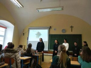 Susret s učenicima Isusovačke klasične gimnazije u Osijeku