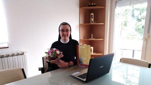 Sestra Marija Sonja Kaurin obranila završni rad