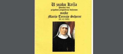U znaku Križa posvećen bl. M. M. Tereziji