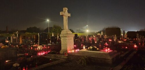 Blagoslov groblja i Krunica za pokojne