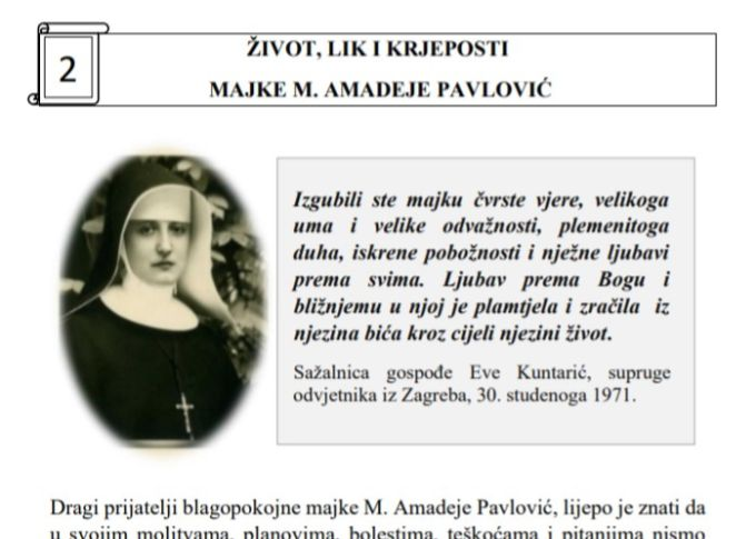 Trenutno pregledavate Upoznajmo majku M. Amadeju – Listić br. 2