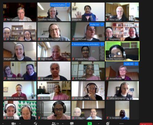 Zoom – sastanak provincijalnih i vikarijatskih poglavarica
