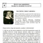 ŽIVOT, LIK I KRJEPOSTI MAJKE M. AMADEJE PAVLOVIĆ – Listić 3