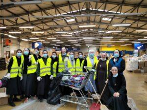 Kandidatice i postulantice pomažu Caritasu Sisačke biskupije