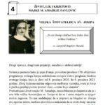 ŽIVOT, LIK I KRJEPOSTI MAJKE M. AMADEJE PAVLOVIĆ – Listić 4