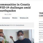 Redovničke zajednice u Hrvatskoj bore se s COVID-19 izazovima usred potresa