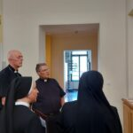 Pohod apostolskoga nuncija Giorgia Lingue samostanu u Đakovu
